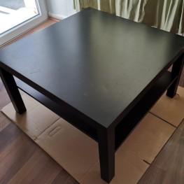 Couch Tisch IKEA lack schwarz